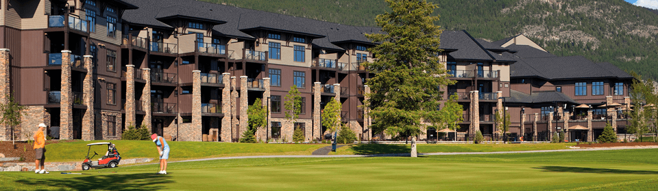 Cooper Point Resort. Invermere, Canada.